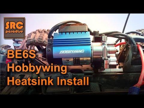 Team Redcat BE6S Custom Hobbywing Heatsink Fan Install