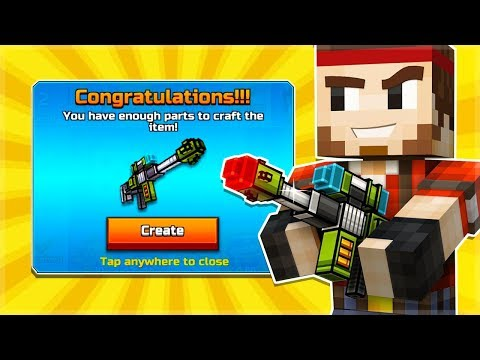 Pixel Gun 3D | Block Rifle = Anti-Champion Rifle But BETTER!!