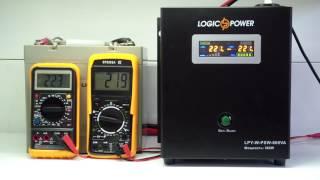 ИБП Logicpower LPY-W-PSW-800, для котлов отопления, чистая синусоида, внешняя АКБ