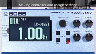 Tips for MD-500 (6): Controlling the rate in real time