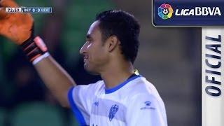 Keylor Navas para los dos penaltis tirados por Molina - HD