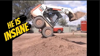 He is the most Insane, Skilled, Skid steer Operator in the World thumbnail