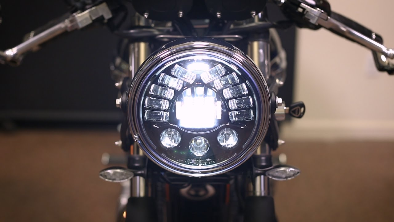 hight resolution of triumph bonneville and thruxton led upgrade installation