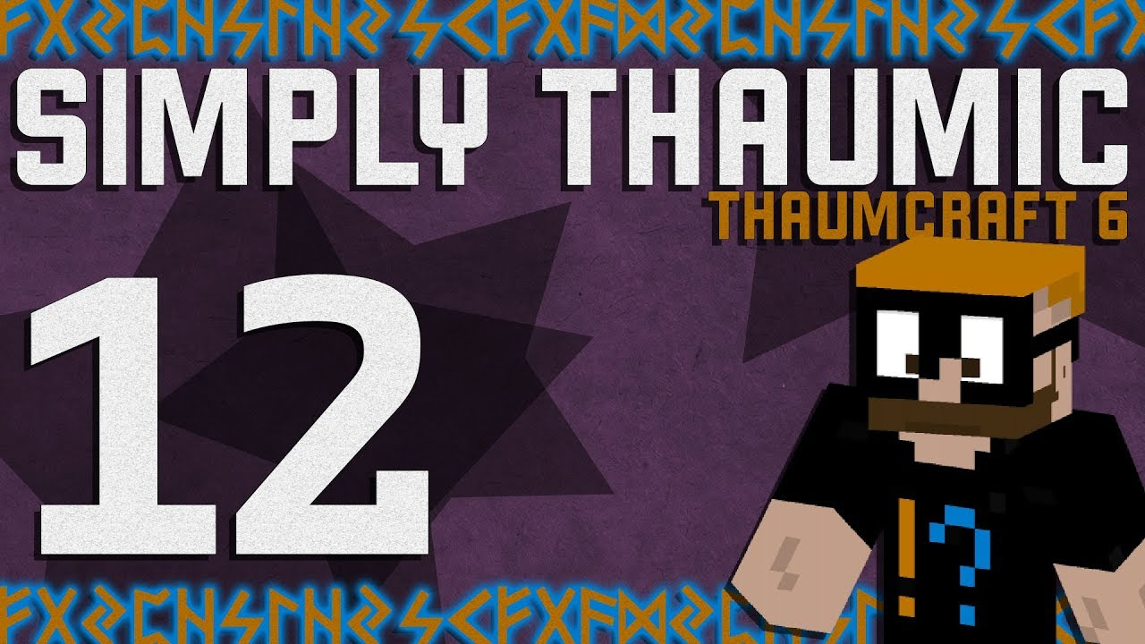 Thaumcraft 6 - Simply Thaumic Minecraft 1 10+ - Ep  12 - Making Vis Crystals