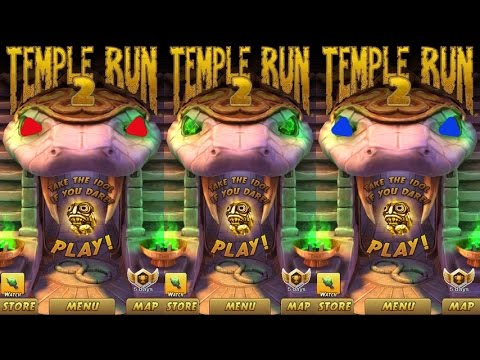 Temple run 2,Peyton Manning,Blazing collect coin-Gameplay make for children #76
