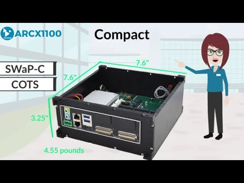 Acromag ARCX1100 Rugged Small Form Factor Embedded Computer