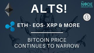 Altcoins Showing Some Life!  ETH, EOS, and More