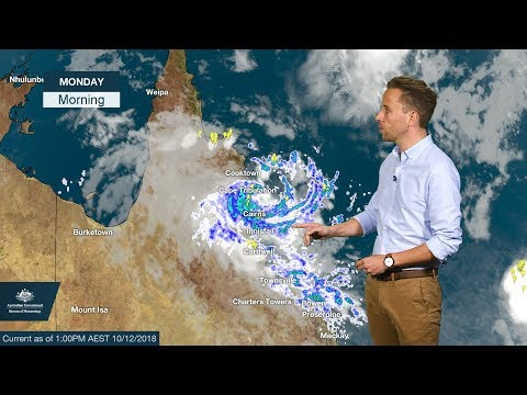 Weather Update: Ex-tropical cyclone Owen in Queensland and rain forecast for southeastern Australia