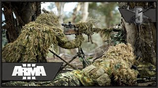 Australian Suppressed Sniper Team - ArmA 3 - SASR Long Range Overwatch