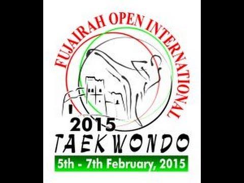 Fujairah Open International Taekwondo Day 1 Court 4