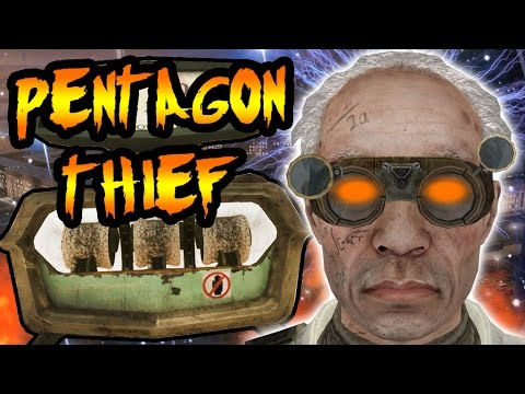 PENTAGON THIEF'S GROUP 935 Experiments! Secret Pack-A-Punch Creator? Call of Duty Zombies Storyline