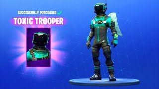 *NEW* TOXIC TROOPER SKIN!! Fortnite Battle Royale
