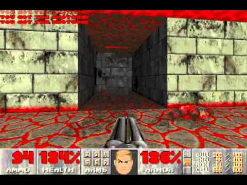 Doom II (100%) Walkthrough (Map18: The Courtyard)