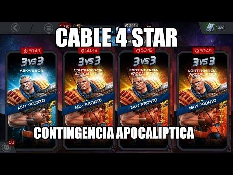 CABLE 4 STAR ARENA  Marvel: Contest of Champions ronda 3