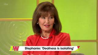 Stephanie Beacham on How Isolating Hearing Loss Is | Loose Women