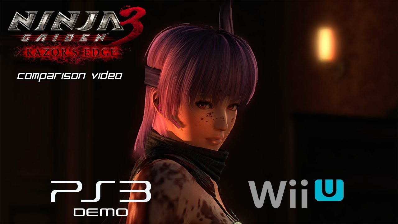 Ninja Gaiden 3 Razor S Edge Comparison Video Ps3 Vs Wii U Youtube