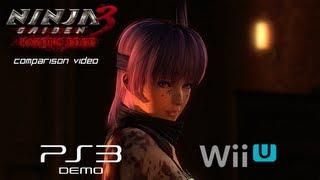 Ninja Gaiden 3 Razor's Edge Comparison Video PS3 vs Wii U