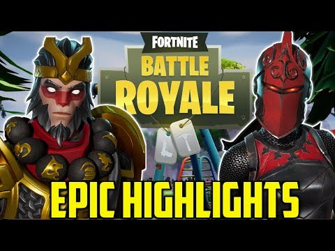 PUMP SHOTTY+TILTED TOWERS=6 BODIES - Majestic & Friends FORTNITE EPIC Highlights Part 2