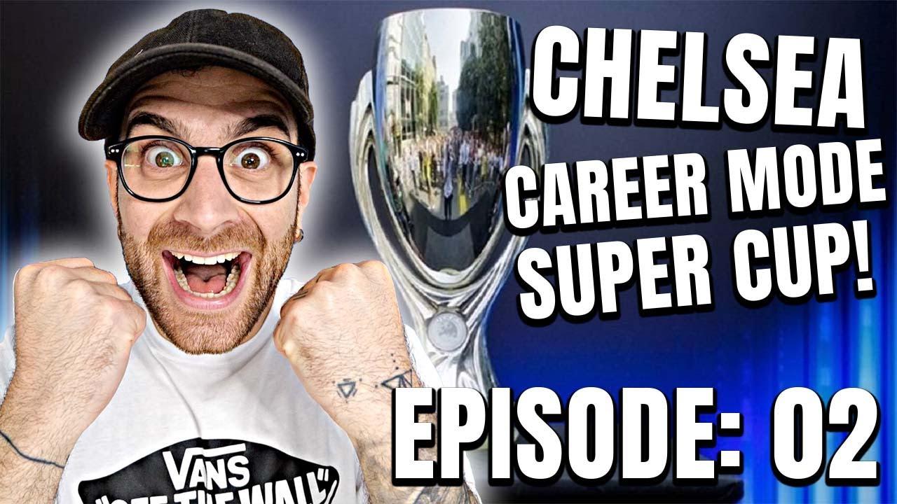 Download FIFA 22 Chelsea Career Mode - Episode 2 - Kounde & Rice SIGNS + UEFA Super Cup!