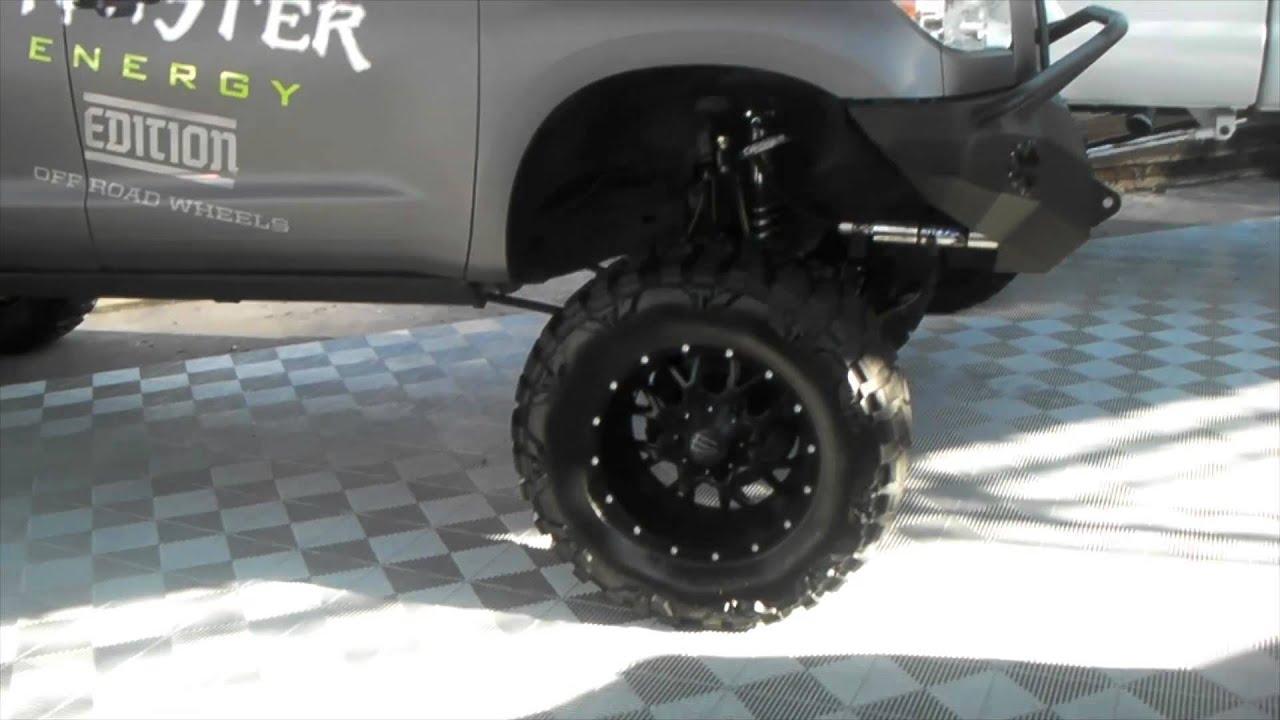 Rims Toyota Tundra >> DUBSandTIRES.com Toyota Tundra on 22'' Monster edition wheels with 38'' Nitto MG Forgiato Rims ...