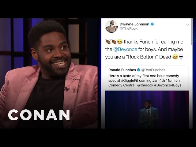 Ron Funches\: The Rock Wants To Have Sex With Me - CONAN on TBS