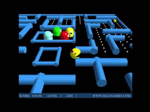 3D Ms. Pac-Man Clone - Defunct Browser Games