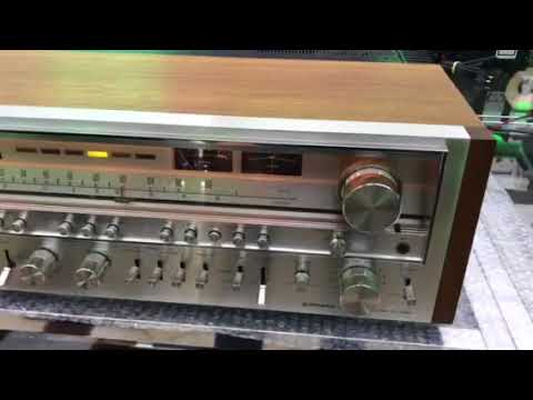 PIONEER SX-1280 High End Monster Receiver Vintage 1978 185 watts  RMS/Channel by Luiz Moledo