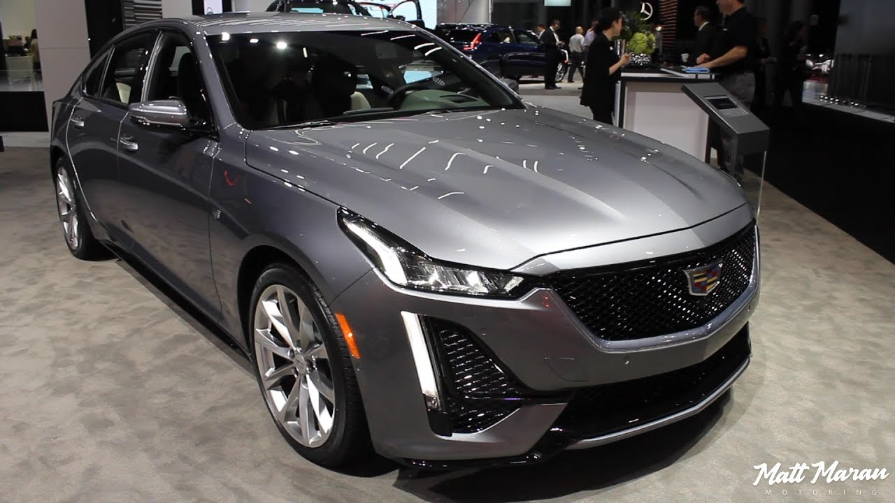2020 Cadillac Ct5 Close Up Look 2019 Nyias