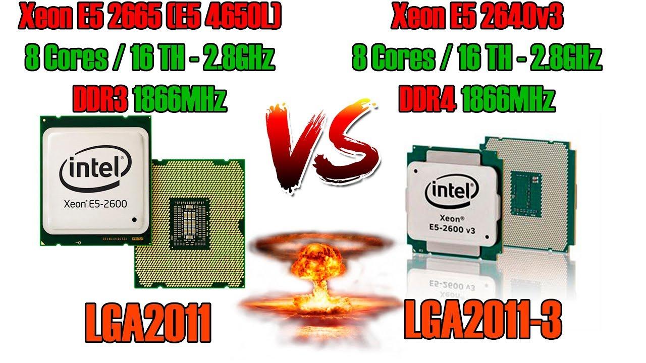 LGA2011 vs LGA2011-3. Такие похожие, но такие разные. Что выбрать?! Xeon E5 2665 vs E5 2640v3