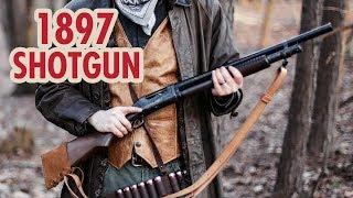 Winchester 1897 Pump Action Shotgun