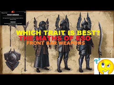Sharpened Now SUCKS?! Or does it... THE MATHS OF ESO #1