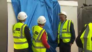 The Unveiling - Cancer Centre foundation stone ceremony