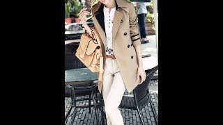 Fashion Trench Coats 2018