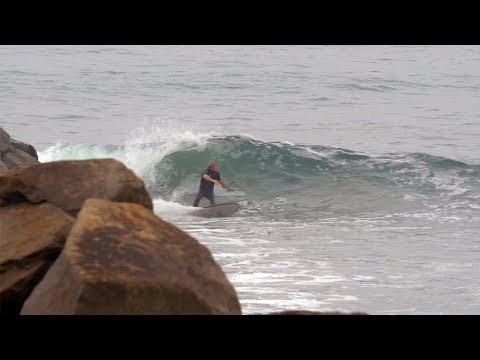 SURFING A PRIVATE MARINE BASE