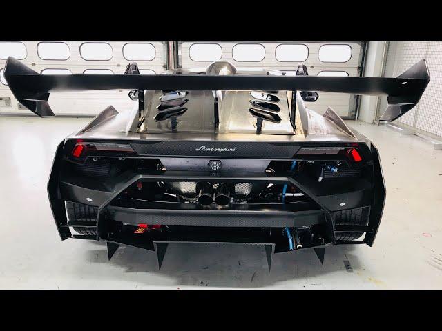 Street legal Lamborghini Huracán Super Trofeo EVO!! - VLog94