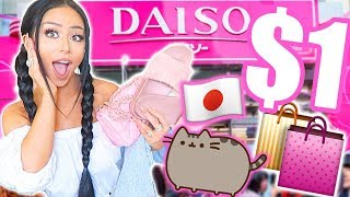 JAPANESE DOLLAR STORE SHOPPING SPREE!