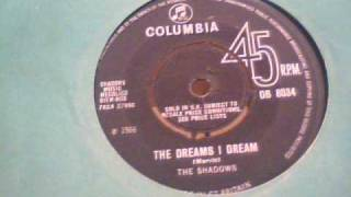 THE SHADOWS  The Dreams i Dream  /  Scotch on the Socks  ( 1966 )