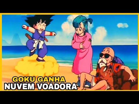 Goku ganha nuvem voadora (HD)