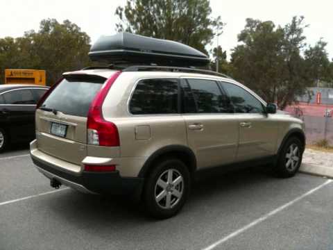 Superb Volvo XC90 Roof Box   YouTube