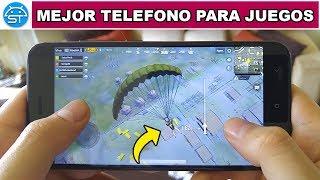 Top MEJOR TELÉFONO para JUGAR JUEGOS ANDROID (2018) con Mejor Cámara | SaicoTech