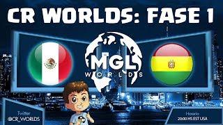 CR WORLDS: MEXICO VS BOLIVIA, ELIMINATORIAS   KManuS88   Clash Royale