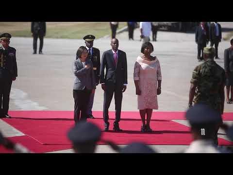 Visite De La Présidente Du Taïwan En Haïti, Son Excellence Mde Tsai Ing-wen