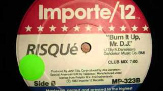 RICROS RISQUE Burn it Up Mr. D.J. 1983.mp4