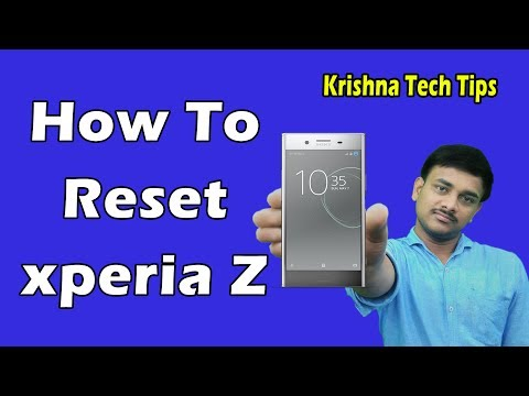 Sony Xperia Z Hard Reset - How to Unlock When You Forgot Password