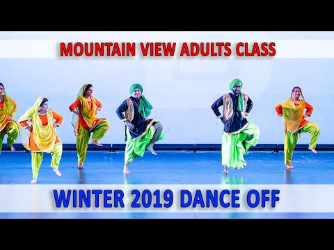 Mountain View Adults  Class - Winter 2019 Dance Off