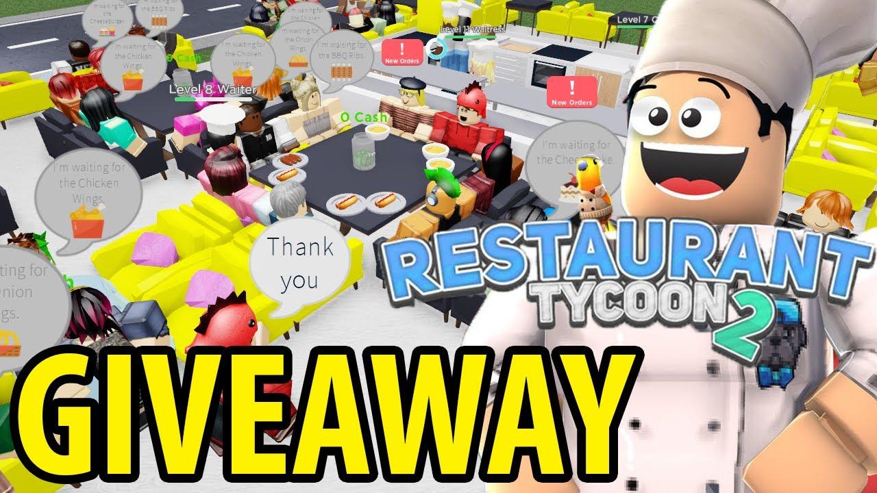 Restaurant Tycoon 2 Giveaway Codes Money Glitch Trailer Ep 1