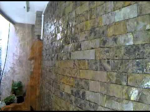 Muro lloron con cortina de agua  YouTube