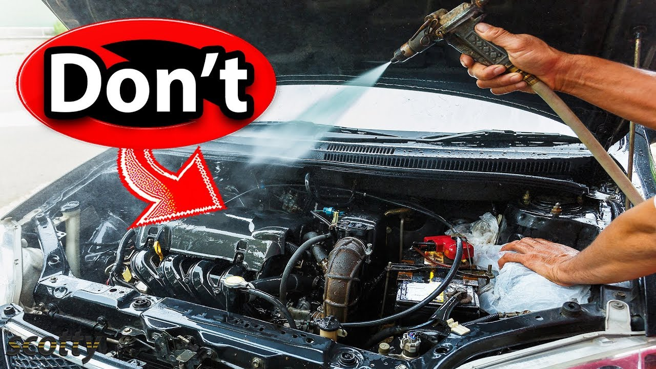 clean  cars engine youtube