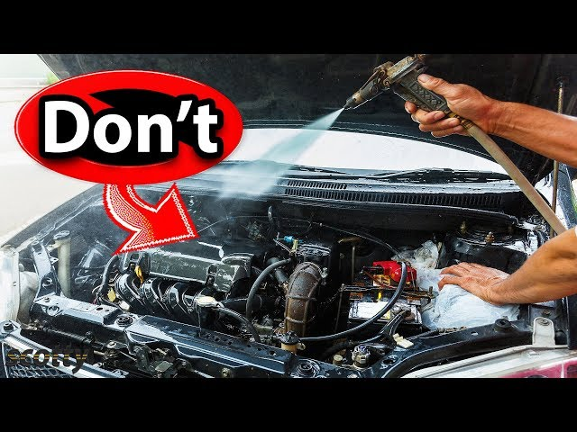 Never Clean Your Car's Engine