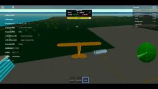 ROBLOX FLUGSIMULATOR TEIL 2 LANDING ON ROOFS MIT PIPER CUB
